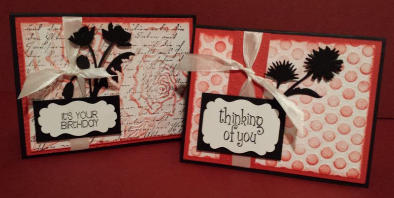 April cuttlebug cardmaking class