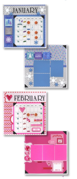 Calendar Club Jan 2018 all 4 pages
